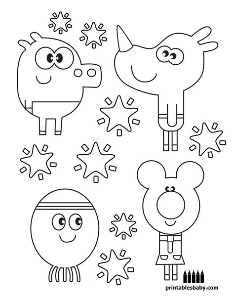 Duggee Coloring Pages hey duggee printables baby free coloring pages