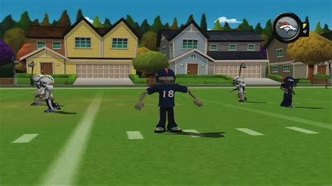 backyard football gameplay backyard football 10 broncos vs chargers trailer from atari