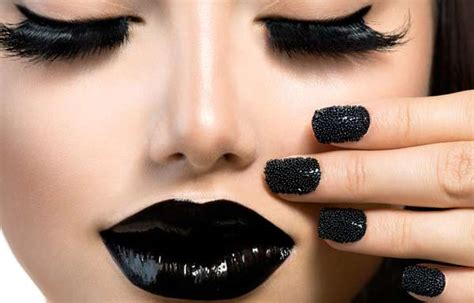 Imagenes Uñas Color Negro   u 241 as decoradas color negro u 241 asdecoradas club