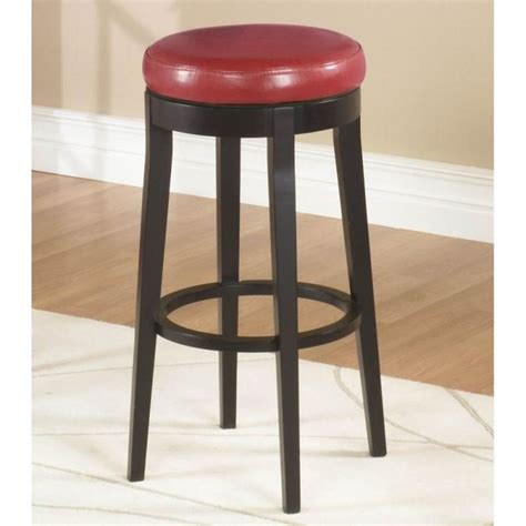 swivel bar stools for kitchen island red bar stools for kitchen island 26 quot backless
