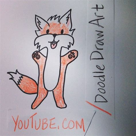 How To Say Drawer by Draw A Fox What Does The Fox Say Draw Me Visit Channel For More Doodle