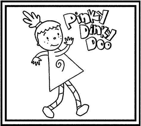 Dinky Doo Coloring Pages