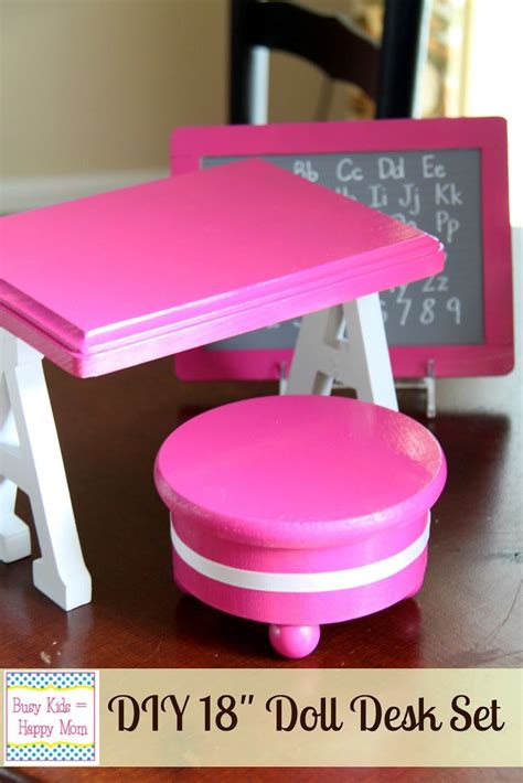 american doll desk diy american doll or 18 quot doll furniture