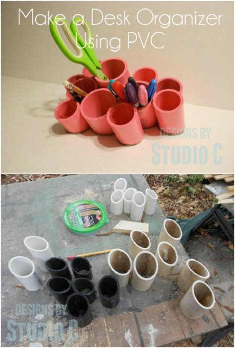 useful diy crafts 25 changing pvc pipe organizing and storage projects diy crafts