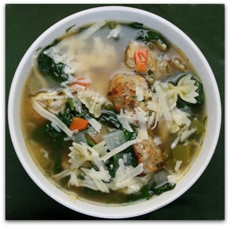 ina garten soup ina garten s italian wedding soup keeprecipes your universal recipe box