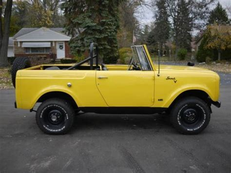 Jeep Scout For Sale Purchase Used 1968 International Harvester Scout 800 4x4