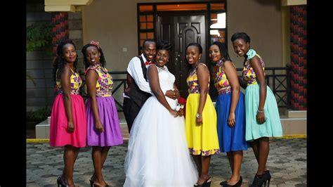 Best Wedding Maids Dresses In Kenya   Saddha