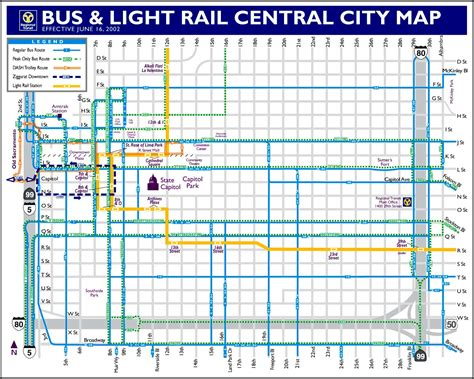 Light Rail Schedule Sacramento trolleybus route and overhead maps