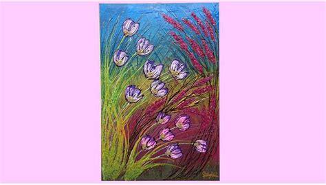 pittori di fiori fiori in primavera vendita quadri quadri