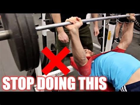 how to properly bench press how to properly bench press fix your form now youtube