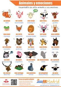 Calendario Y Sus Animales Emociones Y Animales Media Qualidad 8 Espa 241 Ol Para