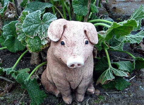 Pig Garden Statue by Just Magical