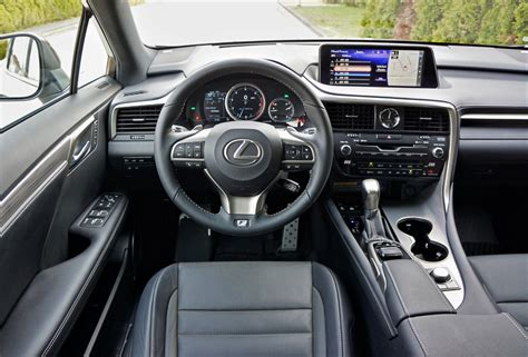 lexus sport 2017 inside 2017 lexus rx 350 f sport the car magazine