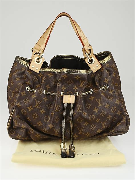 louis vuitton limited edition monogram canvas irene bag