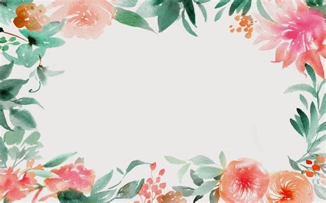 watercolor desktop background watercolor flowers wallpaper wallpapersafari