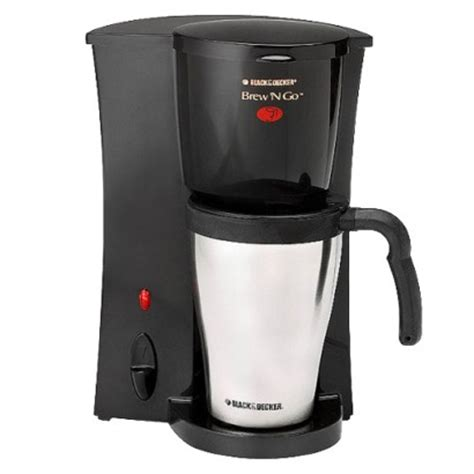 Coffee Maker Black Decker Penyeduh Kopi 1 Cup 330 Watt Dcm25 B1 black and decker coffee maker 1cup