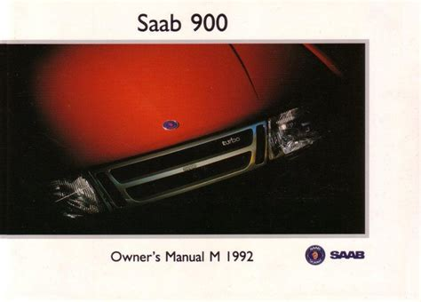 manual repair free 1996 saab 900 user handbook 1992 saab 900 owners manual pdf