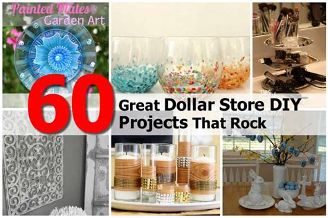 diy projects dollar store 60 great dollar store diy projects that rock