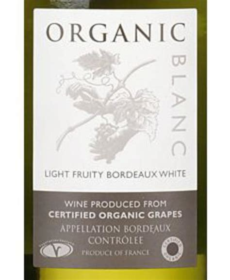 Organic Cider Sipper By Vintage Roots Hippyshopper by Organic Blanc Wine Sauvignon Blanc 12 Organic In 75cl