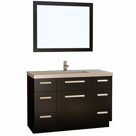 design elements vanity home depot design element moscony 48 in w x 22 in d vanity in