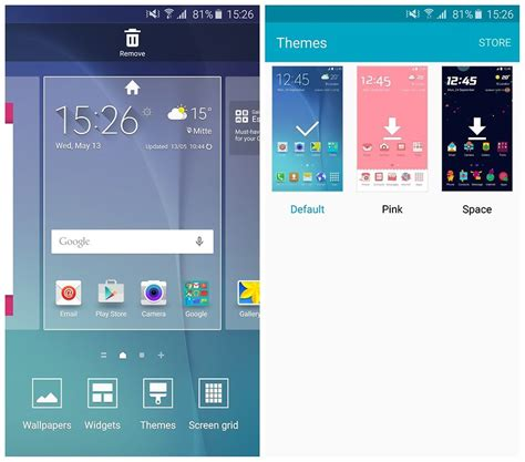 changing themes on s6 how to customize the galaxy s6 to make it look awesome