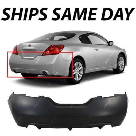 nissan altima coupe front bumper new primered rear bumper cover for 2008 2013 nissan