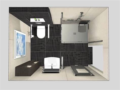 kleines bad gestalten 4qm planung badezimmer idee