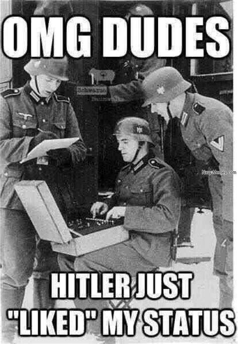 Hitler Video Meme - hitler liked my status navy memes clean mandatory fun