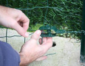 comment poser du grillage 4795 poser un grillage de jardin pratique fr