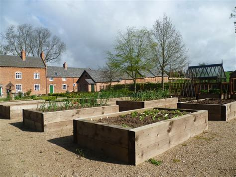 Sleeper Vegetable Garden by Raised Vegetable Beds Using New Pine Railway Sleepers