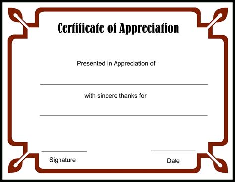 editable certificate of appreciation template luxury gallery of certificate of appreciation business