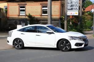 2017 honda civic sedan spied almost undisguised in europe