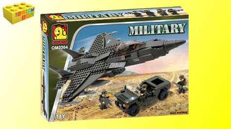 lego army jet oxford fighter jet and jeep om3304 review lego