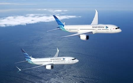 boeing, garuda indonesia announce the airline's intent to