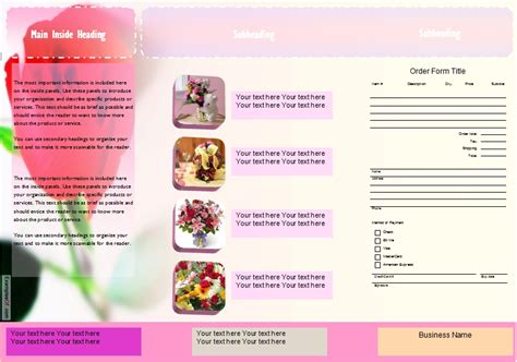 Samples Of Resumes And Cover Letters by Flower Leaflets Samples