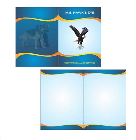 corel draw booklet layout free brochure design cdr format joy studio design