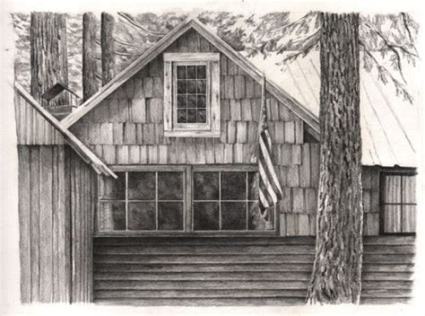 cabin drawings cabin drawing