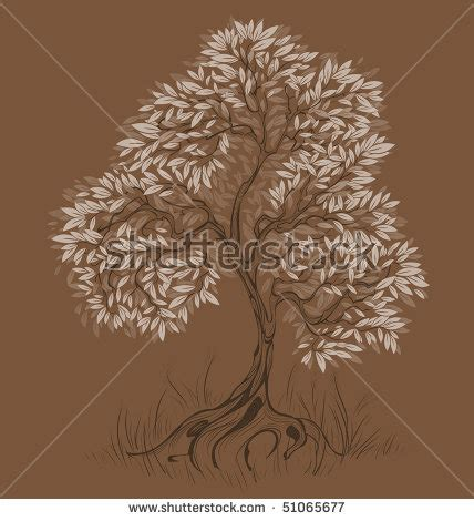 Tshirt Tiger Wood Black Sky coral bush silhouette on white background stock vector