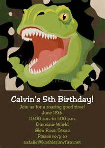 17 best ideas about dinosaur invitations on pinterest