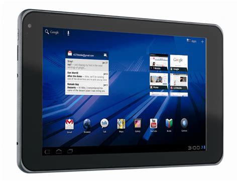 for android tablet t mobile g slate android tablet gadgetsin