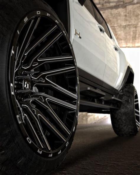 hummer ev  tis wheels
