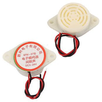 Buzzer Speaker High Decibel 3 24v Sound Alarm Ringer Sfm 27 jual continuous alarm dc6 24v high decibel sound ringer buzzer sfm 27 speaker golden