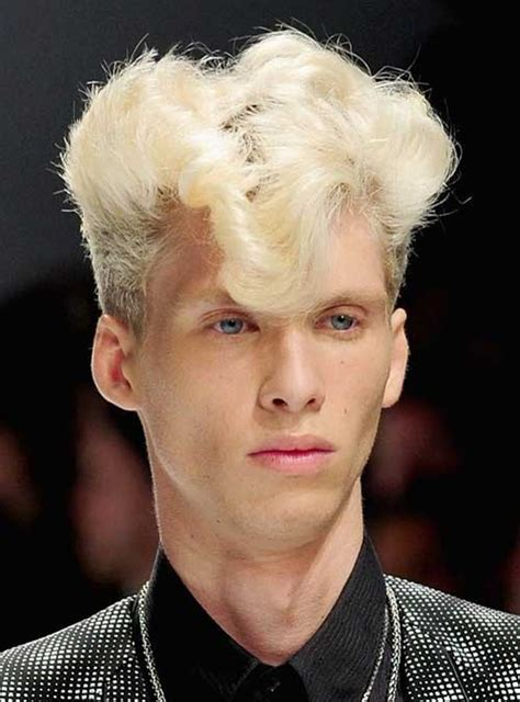 mens haircuts blonde curly 15 punk hairstyles for men mens hairstyles 2018