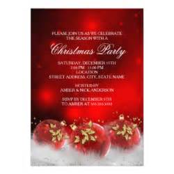 Ugly Sweater Christmas Party Invitations Template - christmas party invitations zazzle