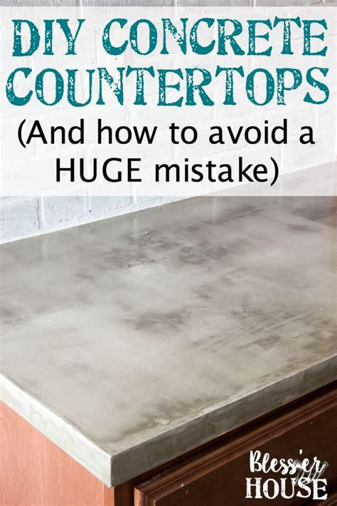 Concrete Countertops How To by Best 25 Concrete Countertops Ideas On Cement