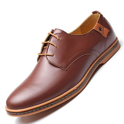 flat oxford shoes business dress leather shoes flat european casual