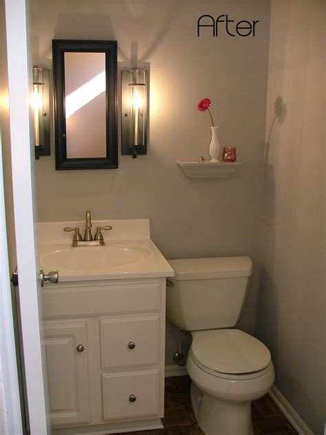 remodel my bathroom ideas my half bathroom remodel reveal design vox