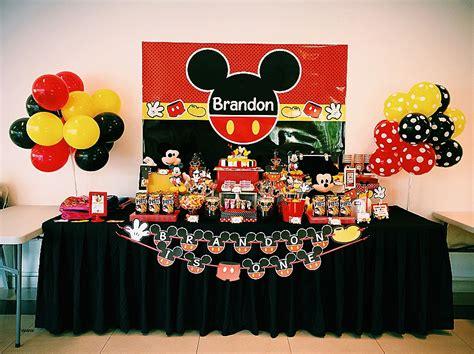 Decoration Bapteme Mickey by Deco Bapteme Theme Mickey