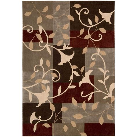 tequila rug nourison tequila forest 3 ft 6 in x 5 ft 6 in area rug 076861 the home depot