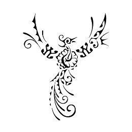 tatuaggi con fiori di ibisco tatuaggio di fenice ibisco nuova vita royalty